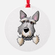 Pocket Schnauzer Ornament