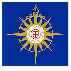 Anglican Flag Poster