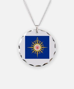 Anglican Flag Necklace