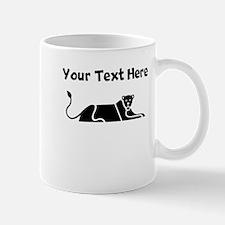 Custom Panther Silhouette Mugs