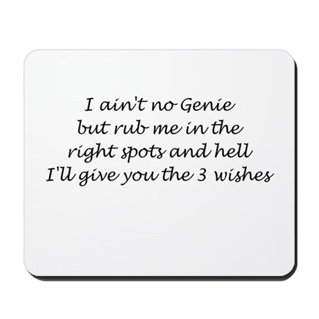 3 Wishes Mousepad