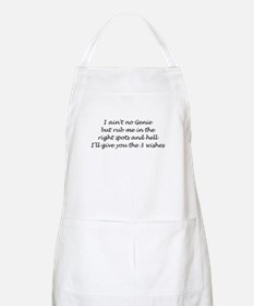 3 Wishes BBQ Apron
