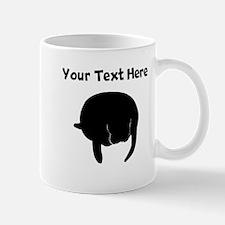 Custom Manatee Silhouette Mugs