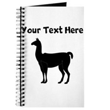 Custom Llama Silhouette Journal