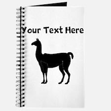 Custom Llama Silhouette Journal