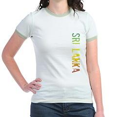 Sri Lanka Jr. Ringer T-Shirt