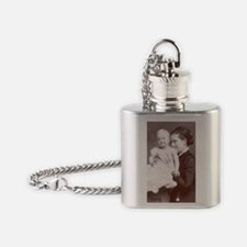 Mother and Baby Flask Necklace