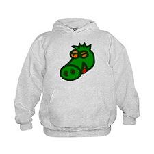 Friendly Green Dragon Hoodie