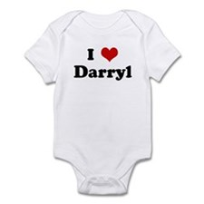 I Love Darryl Infant Bodysuit