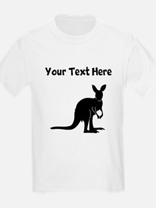 Custom Kangaroo Silhouette T-Shirt