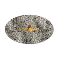 Personalised Bright Fabric Bird Gray Textured Wall