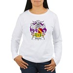 Bada Family Crest Women's Long Sleeve T-Shirt