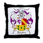 Bada Family Crest Throw Pillow