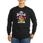Bada Family Crest Long Sleeve Dark T-Shirt
