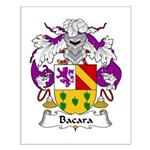 Bada Family Crest Small Poster