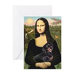 Mona's Dachshund Greeting Card