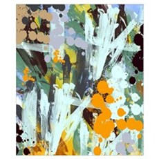 Abstract Country Garden Poster
