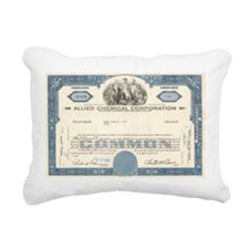 Allied Chemical Rectangular Canvas Pillow