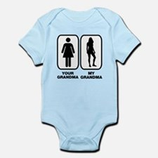 Your grandma my grandma Infant Bodysuit