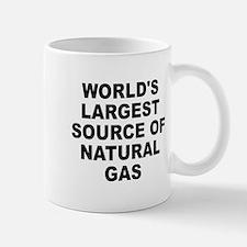 World's Largest Natural Gas Source Mug
