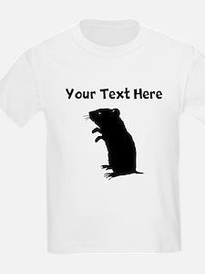 Custom Gerbil Silhouette T-Shirt