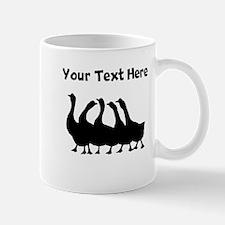 Custom Geese Silhouette Mugs