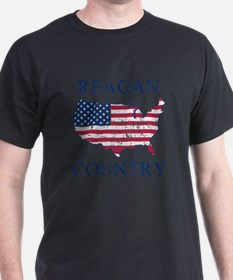 Retro Reagan Country T-Shirt