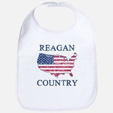 Retro Reagan Country Bib