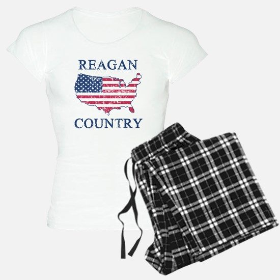 Retro Reagan Country Pajamas