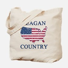 Retro Reagan Country Tote Bag