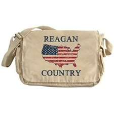 Retro Reagan Country Messenger Bag