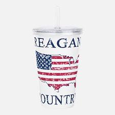 Retro Reagan Country Acrylic Double-wall Tumbler