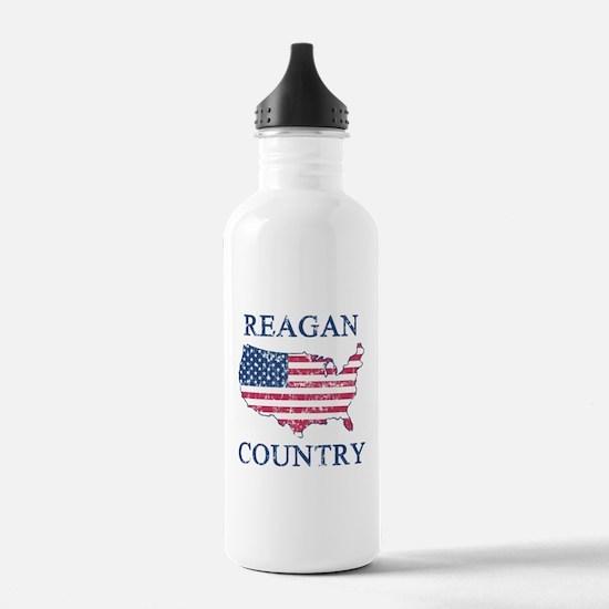 Retro Reagan Country Water Bottle