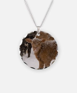 Calves in The Snow Necklace