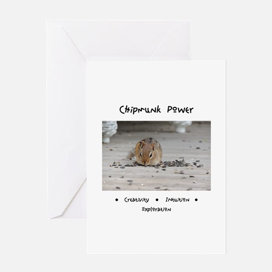 Chipmunk Animal Medicine Greeting Cards