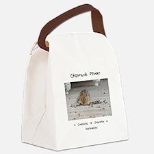 Chipmunk Animal Medicine Canvas Lunch Bag