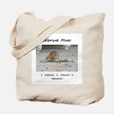 Chipmunk Animal Medicine Tote Bag