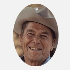 Ronald Reagan Oval Ornament