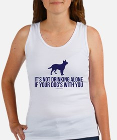 Drinking Alone With Dog Tank Top