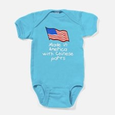 Made in America Chinese Baby Bodysuit