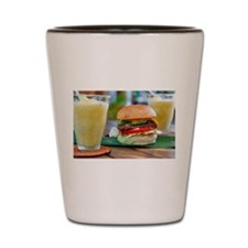 Gourmet Burger and Smoothies Shot Glass