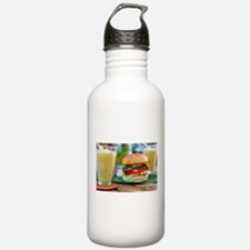 Gourmet Burger and Smo Water Bottle