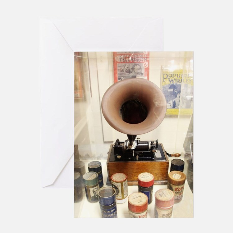 Vintage Sound Machine Greeting Card