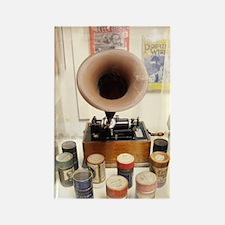 Vintage Sound Machine Rectangle Magnet