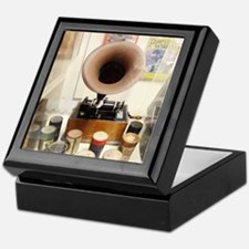 Vintage Sound Machine Keepsake Box