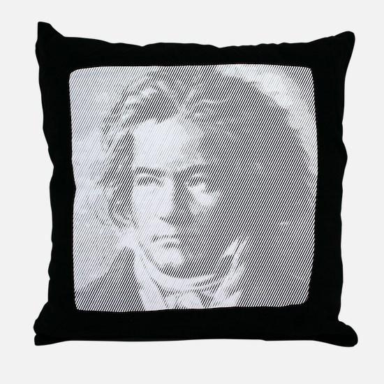 Beethoven Portrait Throw Pillow