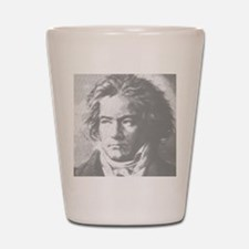 Beethoven Portrait Shot Glass