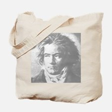Beethoven Portrait Tote Bag