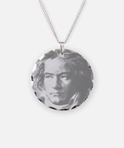 Beethoven Portrait Necklace