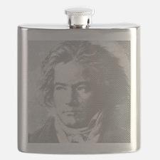 Beethoven Portrait Flask